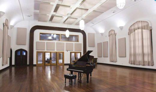 Live Room in Esplanade Studios
