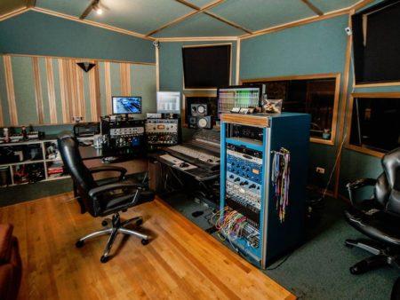 Control Room in Miller Street Studios