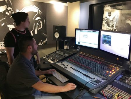 Ableton mentor Alex Valente and Mike Menedjian at Abstract