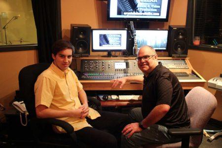 Kevin Richey and mentor Joey Heier