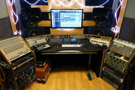 Control Room in Conway Sound