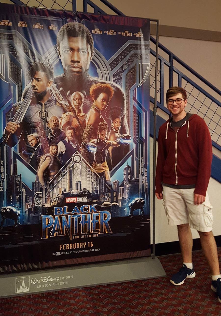Film Connection grad Black Panther