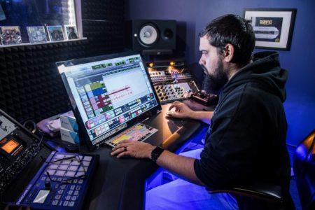 Recording Connection mentor Michael Cancel