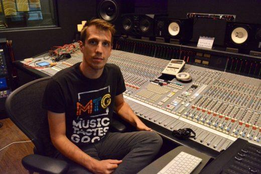 Recording Connection mentor Brian Frederick